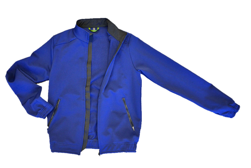 CLEARANCE! BLUE INK _blk label SCHOELLER® WOOL track jacket