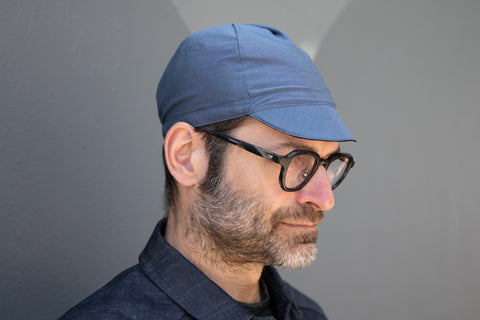 CADET BLUE lightweight wool CAP