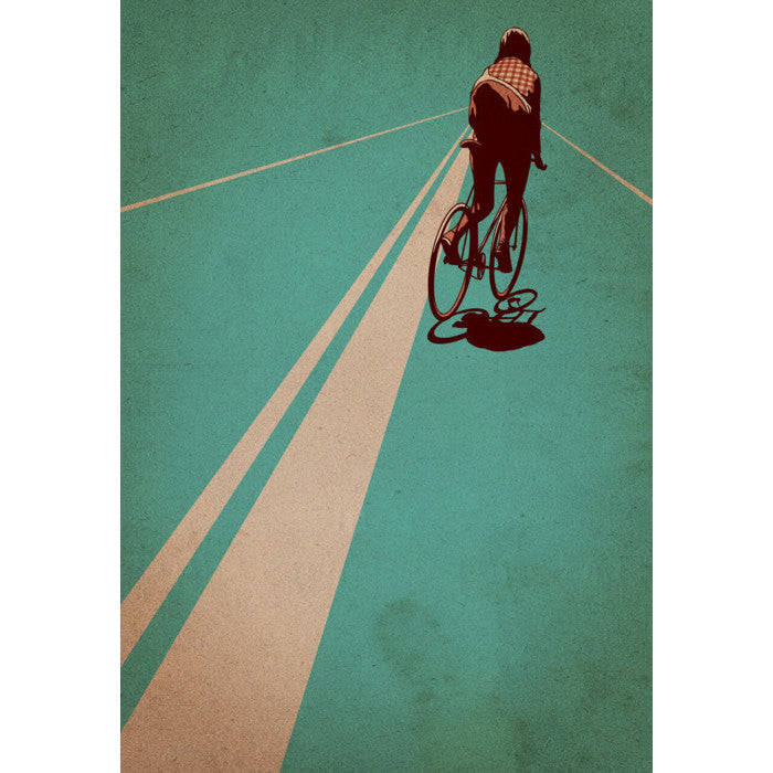 On the Line BONESHAKER print