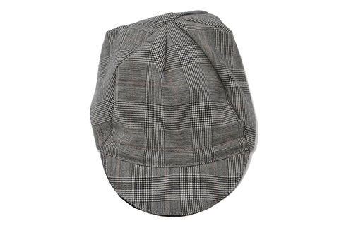 PRINCE OF WALES CHECK lightweight wool CAP