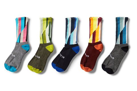 swrve x DION JOHNSON merino socks