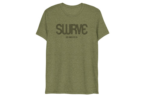 USA super soft tri-blend 1968 swrve logo t-shirt