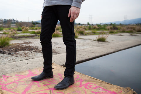 NEW! black CORDURA® skinny jeans
