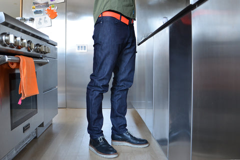 Kurabo INDIGO denim REGULAR FIT JEANS