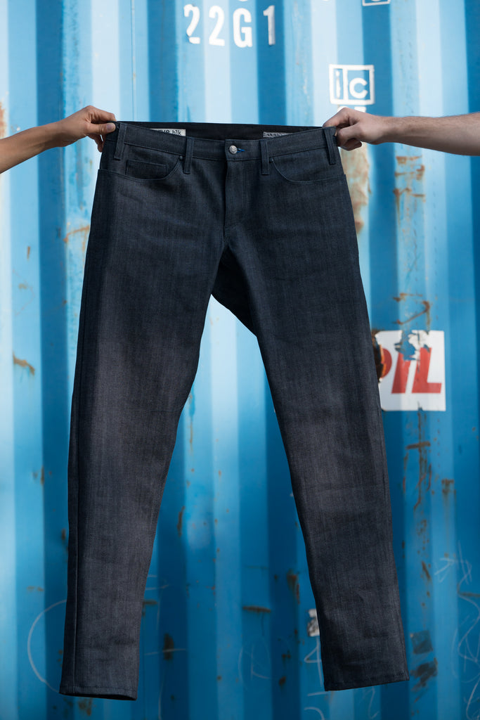 INDIGO Team Dream + swrve limited edition KAIHARA denim REGULAR JEANS