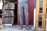 grey wash CORDURA® regular jeans