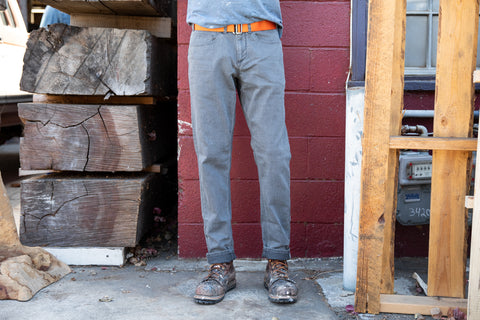 NEW!! grey wash CORDURA® regular jeans