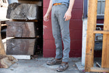 grey wash CORDURA® slim jeans