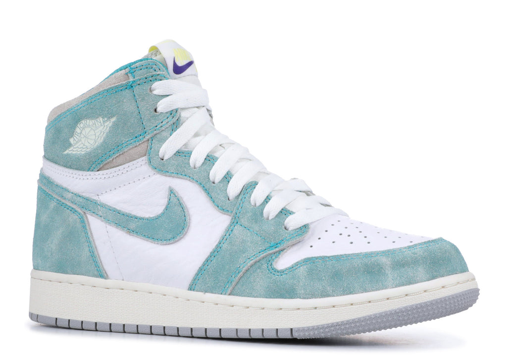 "Air Jordan 1 Retro High OG (GS) ""Turbo Green"""
