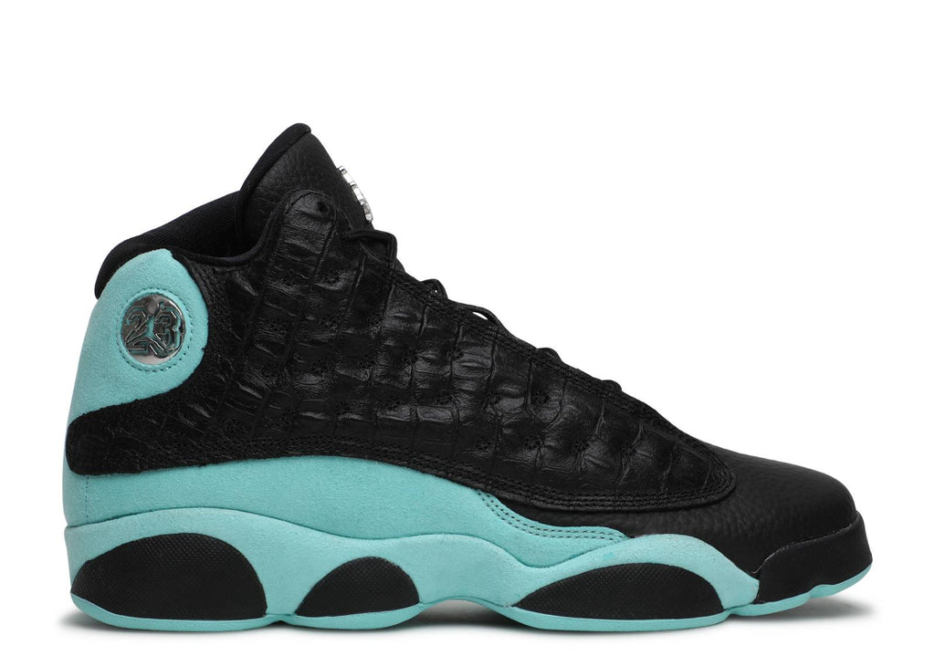 "Air Jordan 13 Retro GS ""Black Island Green"""