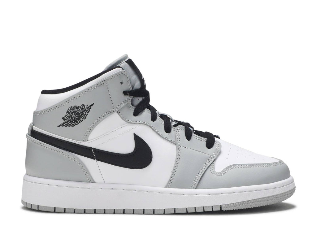 "Air Jordan 1 Mid (GS) ""Smoke Grey"""