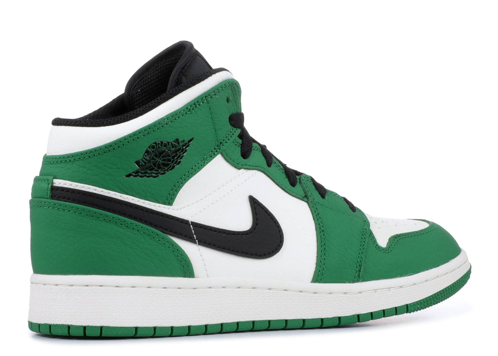 "Air Jordan 1 Mid GS ""Pine Green"""