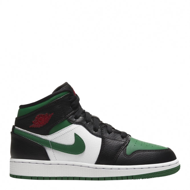 "Air Jordan 1 Mid GS ""Green Toe"""