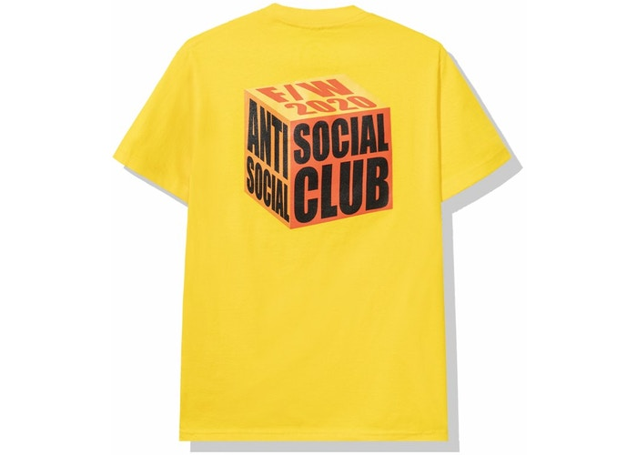 "ASSC ""I wish I was wrong"" Yellow Tee"