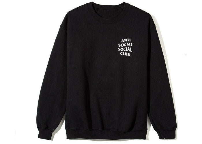 "ASSC Frantic ""Black"" Crewneck"
