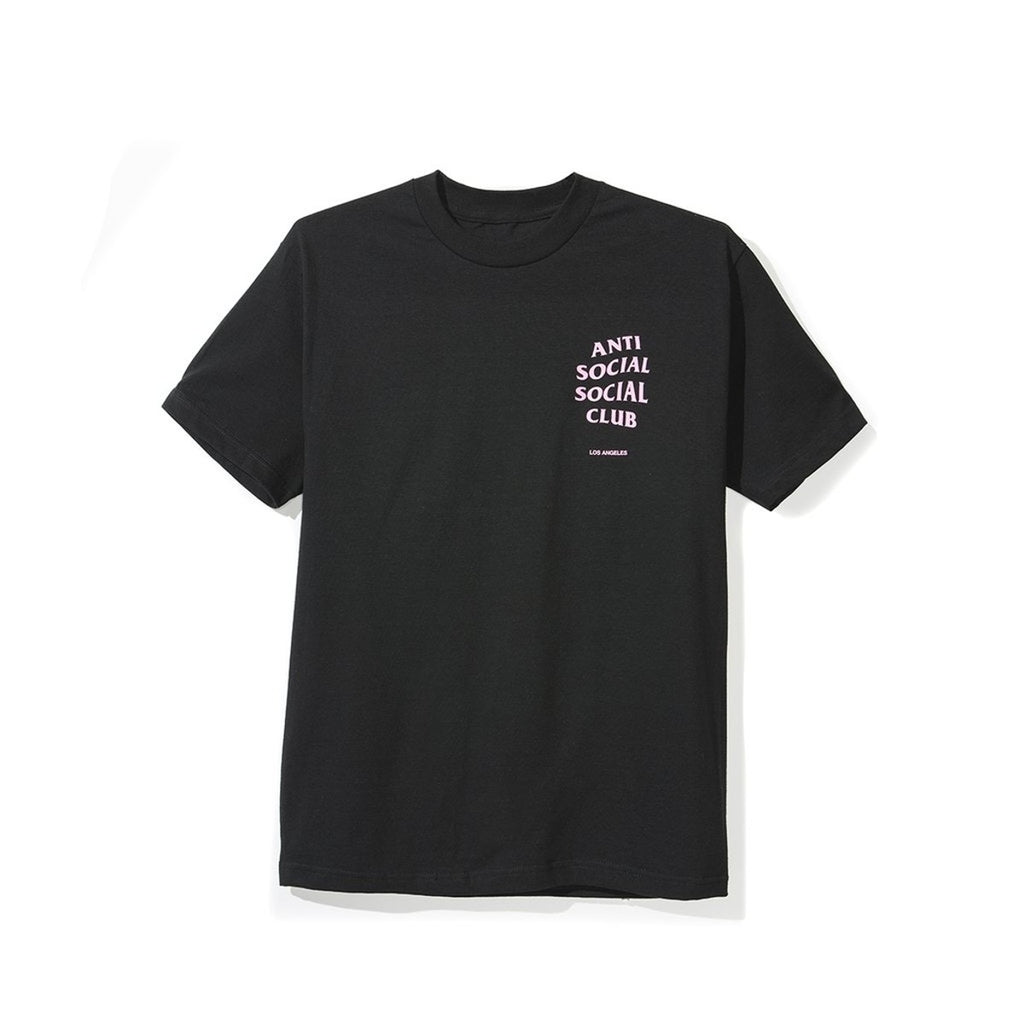 "ASSC  Los Angeles Pink  logo ""Black"" Tee"
