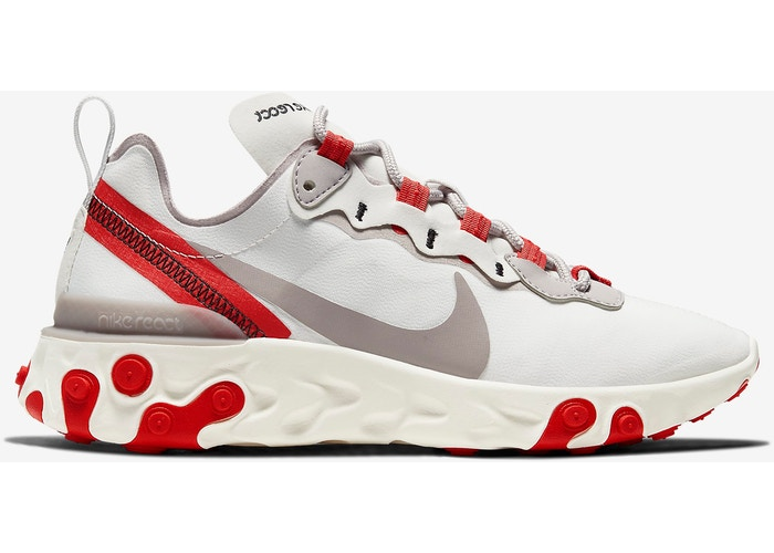 "Wmns nike react element 55 ""University red"""