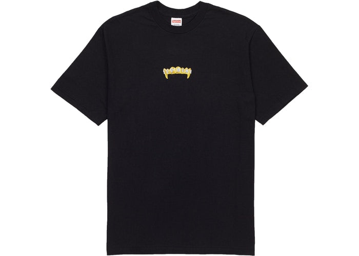 "Supreme Fronts ""Black"" Tee"
