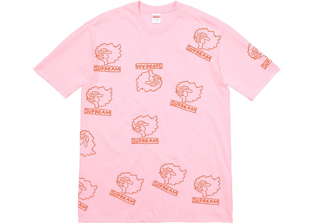 "Supreme Gonz Heads ""Light pink"" Tee"
