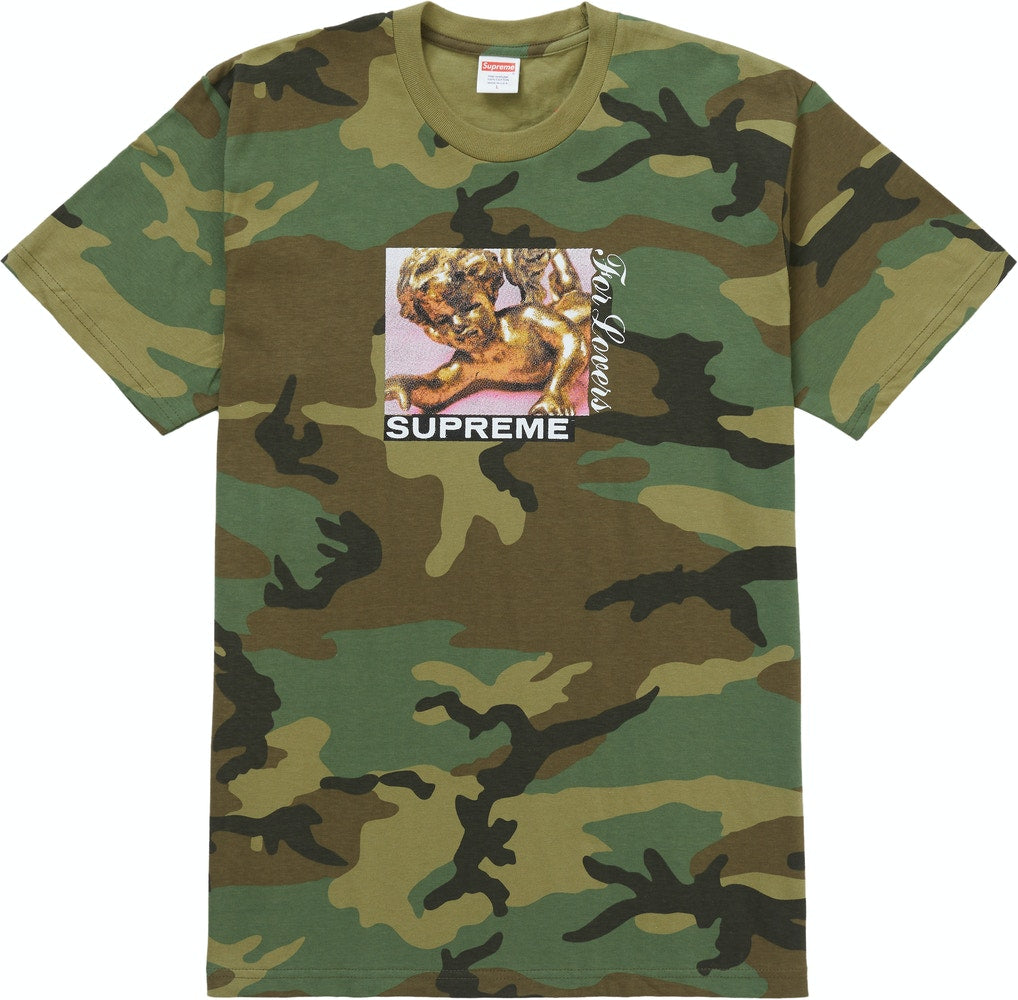 "Supreme ""Lovers Camo"" Tee"