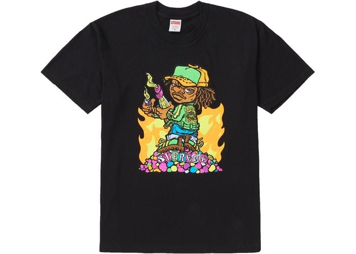 "Supreme Molotov Kid ""Black"" Tee"