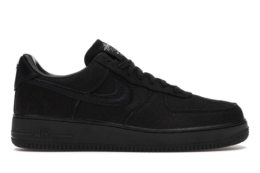 "Nike Air Force 1 x Stussy ""Black"""