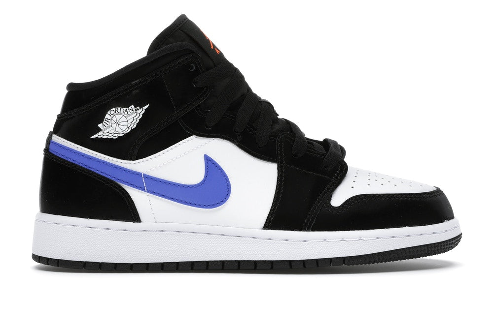 "Air Jordan 1 mid Gs ""Black/Racer blue"""