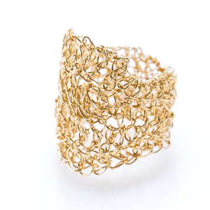 OVAL RING GOLD