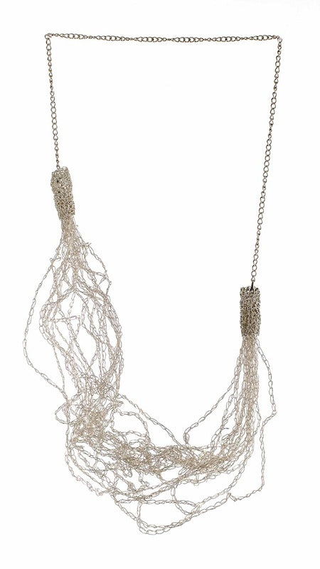 MULTI WEAR LONG CROCHET LACE NECKLACE