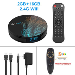 HK1 Max Smart TV Box Android 9.0 Wifi Netflix and More! - Daily Tech Bargains