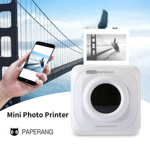 Portable Mini Bluetooth Printer 58mm Pocket Thermal Photo Printer For Mobile Phone Printer - Daily Tech Bargains