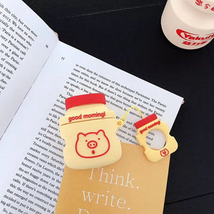 Yakult Yoghurt Silicone Case For Apple AirPods - Daily Tech Bargains