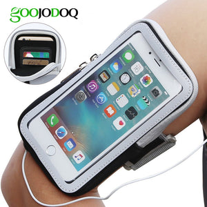 Sports Running Phone Case Cover Armband for iPhone and Samsung Galaxy - Daily Tech Bargains