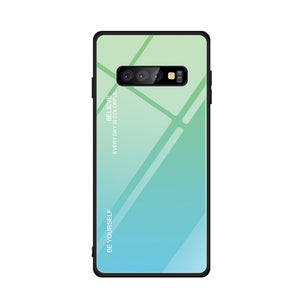 FLOVEME Tempered Glass Case For Samsung Note 10 8 9 S8 S9 S10 Plus A50 A30 A40 A70 - Daily Tech Bargains