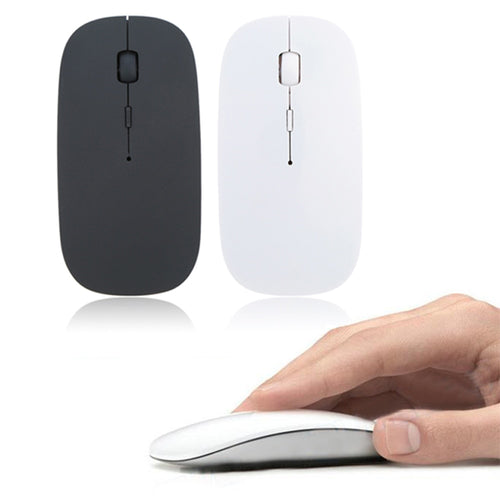 Wireless Mouse, 1600 DPI Adjustable, USB Receiver, Optical Tracking - Daily Tech Bargains