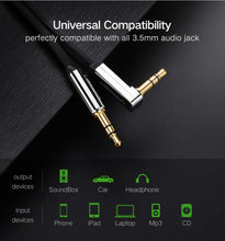 Load image into Gallery viewer, Ugreen AUX Audio Cable 3.5mm - Daily Tech Bargains