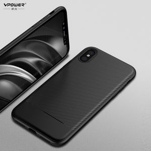 VPower Carbon Fiber Phone Case for Apple iPhone X - Daily Tech Bargains