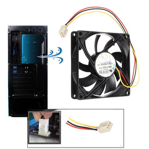 LEORY DC 12V 3-Pin 80mm x 15mm Computer Case CPU Fan - Daily Tech Bargains