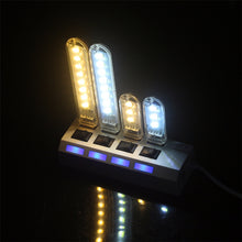 Load image into Gallery viewer, Portable Mini 3-LED USB Night Lamp For Outdoor Camping or Reading Light - Daily Tech Bargains