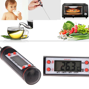 Digital LCD Kitchen Thermometer C and F - Daily Tech Bargains
