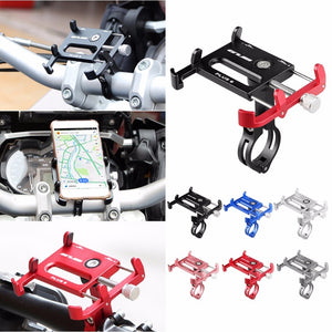 Aluminum Universal Bicycle Phone Holder for Bike Handlebars - Daily Tech Bargains
