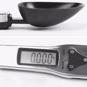 Steel Electronic Measuring Spoon with LCD Scale 300g - Daily Tech Bargains