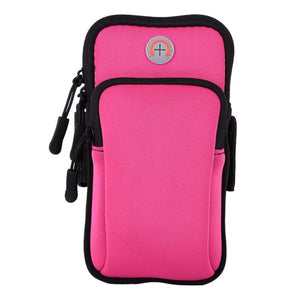 Universal Zippered Sports Armband for Apple iPhone, Samsung Galaxy Series , Huawei P10 - Daily Tech Bargains