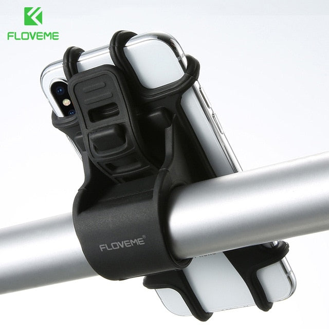 FLOVEME Universal Mobile Cell Phone Holder for Bicycle Handlebars - Daily Tech Bargains