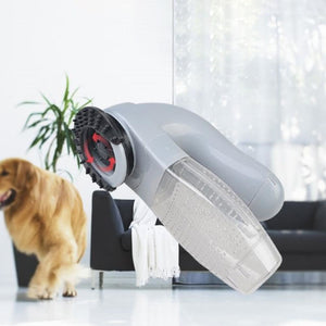 Electric Pet Hair Remover, Portable Pet Vacuum Cleaner - Daily Tech Bargains