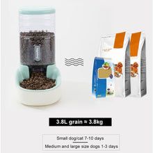 Load image into Gallery viewer, 3.8L Automatic Pet Feeder Water or Dry Food Dispenser - Daily Tech Bargains