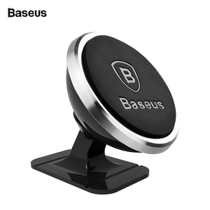 Baseus Universal Magnetic Car Phone Holder 360 Degree Air Vent Mount with Iron Plate - Daily Tech Bargains