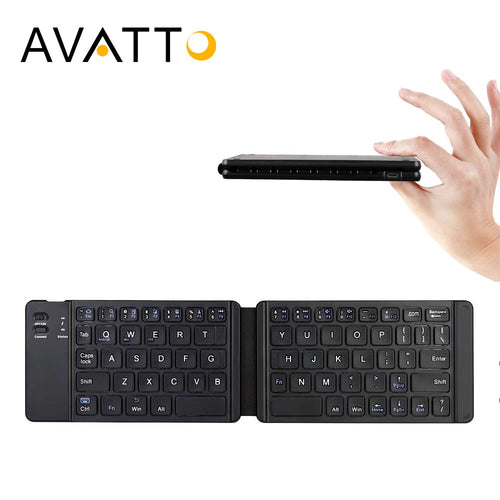Bluetooth 3.0 Folding Keyboard,  iOS Android Windows Mac US - English - Daily Tech Bargains
