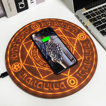 Load image into Gallery viewer, Universal Wireless Qi 10W Mindzo Magic Array Charging Pad for Quick Charge Compatible! - Daily Tech Bargains