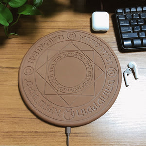 Universal Wireless Qi 10W Mindzo Magic Array Charging Pad for Quick Charge Compatible! - Daily Tech Bargains